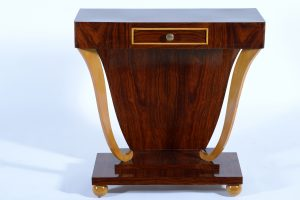 Art deco Italian Console with drawer ,1930. Consolle Italiana Decò 1930 Image